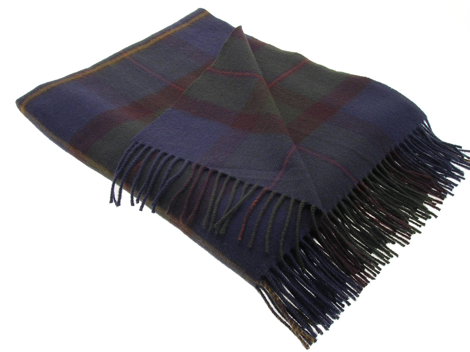 MacLeod Of Harris Antique Tartan Lambswool Blanket